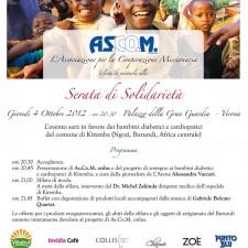 Serata di Solidarietà 2012